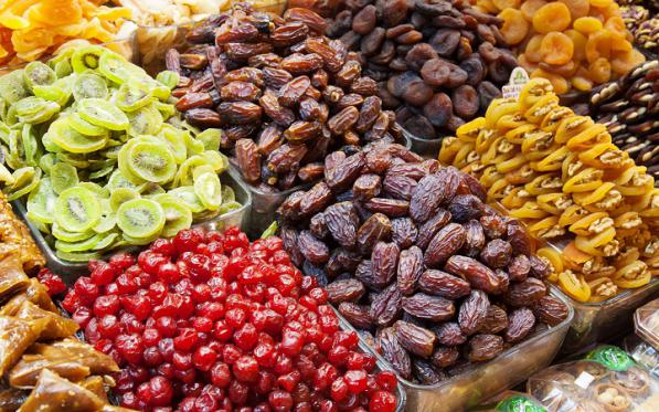Dried Fruit Types Price List in Wholesale Market